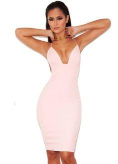 Fran Bandage Midi Dress