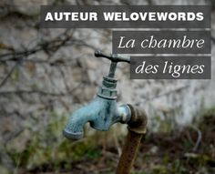 "La chambre des lignes / Article ""UnTitre pour votre nouveau roman ?"" par Le Blog de We Love Words Roman, We, Garden Sculpture, Photos, Outdoor Decor, Blog, Bedroom, Knots, Pictures"