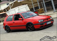 Red VW Golf Mk3 GTI | Flickr - Photo Sharing!