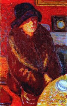 Pierre Bonnard: Mme Bonnard,1917