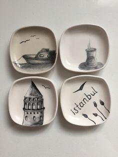 İstanbul. Galata. Çay. Tekne. Martı. #istanbul #galata #handmade