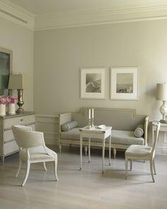 Swedish color palette, Swedish/Gustavian, gray paint, paint color palette, | Martha Stewart