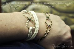 Lune Vintage: Eternity Bracelet