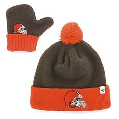 Cleveland Browns Baby Baby Beanie