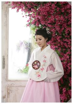 Korean Hanbok with royal chima (blouse)