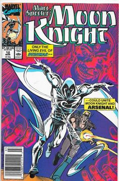 Marc Spector Moon Knight #12 Marvel Comics Doug Moench NM-