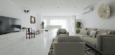 Grand piano, Safari style, Scandinavian, Nordic, White, Penthouse