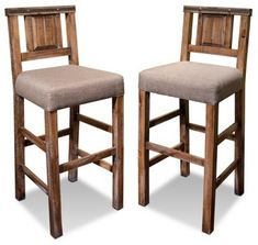rustic reclaimed solid wood counter high bar chair bar stool with back rusticbar