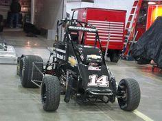 Tony Stewarts midget car.