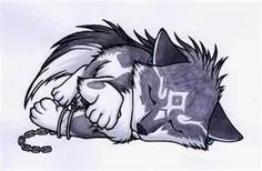 bing.com/anim wolves | Anime Wolf puppy - Bing Images-animation insparation