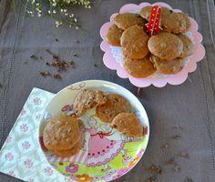 Craft Cook Love: Food Challenge : Μπισκότα μελιού με Κακάο Νίμπς- Cookies with Honey & Cacao Nibs Food Challenge, Dyi, Biscuits, Muffin, Honey, Snacks, Cookies, Breakfast, Birthday