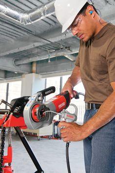 Ridgid Tools, Pipe Wrench, Milwaukee Tools, Professional Tools, Bathroom Interior Design, Diy Tools, Power Tools, Plumbing, Outdoor Power Equipment