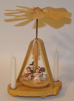 Vintage CHRISTMAS Decor 1980s German Erzgebirge by shopdida