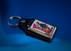 Retro Batman Medallion Keyfob by UnofficiallyOriginal on Etsy