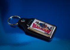 Retro Batman Medallion Keyfob by UnofficiallyOriginal on Etsy