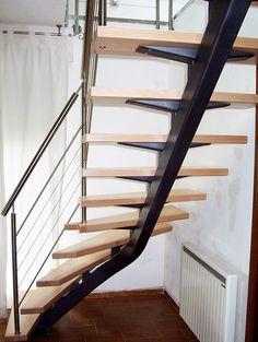 """""""Mastro"""", escalier limon central - Art Escaliers Decorațiuni, Scări, Decorațiuni Interioare, Lemn, Planul Casei, Acasă, Modern, Viitor"""