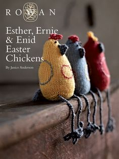 Esther, Ernie & Enid Easter Chickens