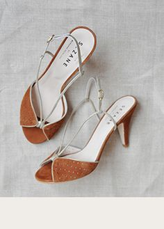 Monroe sandals by Cezanne look so good on your feet and they're not too high to walk in. Gorgeous. Wear nail polish.