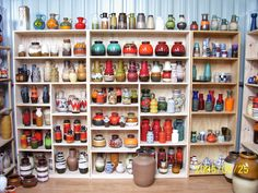 west german ceramics - T would love to have a collection like this. Only 100 or so off