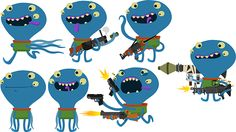 Squid Shooter on Behance