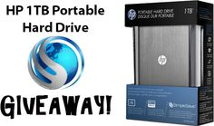 HP 1TB Portable Hard Drive Giveaway - http://wahlnetwork.com/2014/01/06/hp-1tb-portable-hard-drive-giveaway/