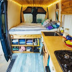 How's this layout? Just love the use of cupboard space and variation clever folk come up with. Something to consider next time you're looking to create space. @vanalog_vibes are giving you the opportunity to buy their home on wheels. Link is in their bio. #vanlifediaries . Be the change. You're awesome.jc