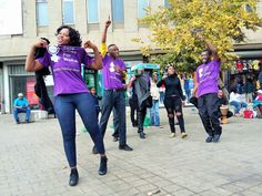 It happens to three quarters of women ! Campaigners in South Africa protest street harassment for the 16 Days of Activism on Violence Against Women, joining with other organisations with a positive solution 'Tax Pays for Safe Cities for Women'.
