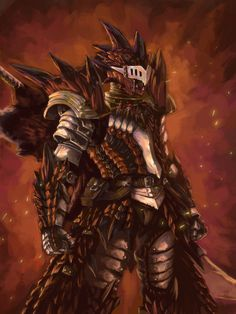 Monster Hunter Rathalos armor