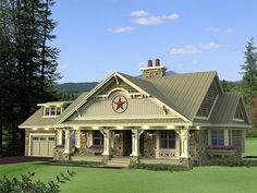 House Plan 42650 | Craftsman   European    Plan with 1999 Sq. Ft., 3 Bedrooms, 3 Bathrooms, 2 Car Garage