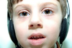 Use headphones to fulfill sensory needs of autistic children or modify their learning environment #autism #edchat #educhat #specialneeds #spedchat