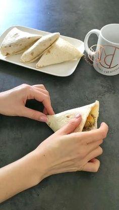 Sandwich Buffet, Food Truck Festival, Mini Tacos, Food Vids, No Salt Recipes, Tortilla, Easy Cooking, Diy Food, Quick Meals