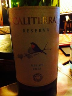 Great wine from Chile.