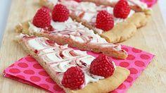 Jocelyn Delk Adams pairs cheesecake and cookie crust in one sweet, summery pizza.