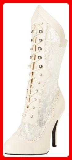 Funtasma VICTORIAN-116X Ivory Pu-Lace UK 4 (EU 37 ) - Stiefel für frauen (*Partner-Link)
