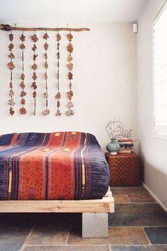 cama de bloco concreto