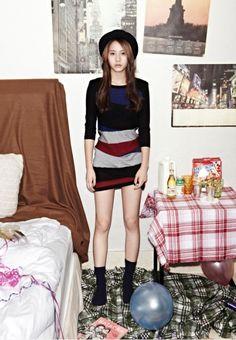 f(x) Krystal B Fashion, Ulzzang Fashion, Fashion Lookbook, Korean Fashion, Krystal Fx, Jessica & Krystal, Krystal Jung Fashion, 54 Kg, K Idol