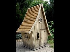 cabane, great little garden shed!