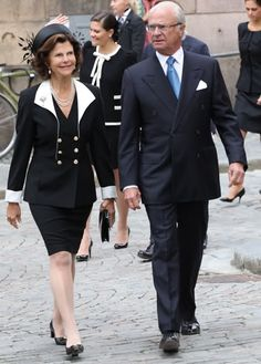 King Carl and Queen Silvia of Sweden