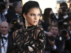 In this May file photo, Kendall Jenner poses for photographers upon arrival at the screening of the film Mal De Pierres at the Cannes International Film Festival in southern France. Kendall Jenner Instagram, Marc Jacobs, Breast Cancer Support, International Film Festival, Ballet Dancers, Weekend Is Over, Kanye West, Harry Styles, Supermodels