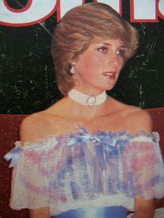 "November 4, 1981: Princess Diana at ""Splendours of the Gonzaga"" exhibition at the Victoria and Albert Museum, South Kensington, London"