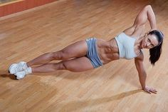 5 moves to lose love handles Bicycle- 1 minute While lying on your back and hands behind your head bend your knees and crunch up to center. Twist right leg to left elbow repeat twist with left leg to...