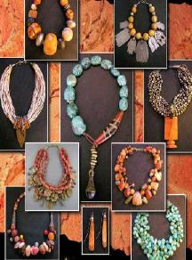 Dorje designs. African style jewelry