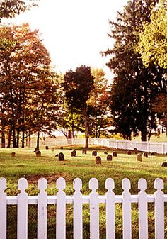 Cemetery, Shaker Village, Pleasant Hill, Harrodsburg, Kentucky | Shaker Photographs - Shaker Workshops Photography Gallery - Donna Gabbard