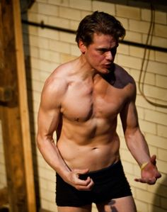 Sam Heughan as Max in Amphibians. The Leisure Review: February 2011