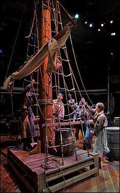 Treasure Island cool pirate ship set