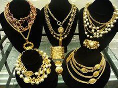 Vintage Chanel Jewelry. Valentino Haute Couture ...    thesilverpen.com