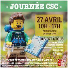 Journée CSC Orientation # Inscrivez-vous ! bushcraft camp campisme scout carte boussole