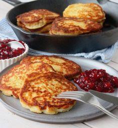 Potato Dishes, Potato Recipes, Vegetarian Recipes, Cooking Recipes, Healthy Recipes, Good Food, Yummy Food, Swedish Recipes, Leftovers Recipes