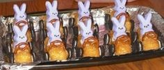 Peeps & Twinkies gone yummy! What is cuter, easier, more fun, and yummy than these Easter Bunny Cars - What CUTE Easter Treats!!!