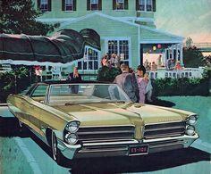 1965 Pontiac Bonneville Brougham - 'Evening, Inn at the Cape': Art Fitzpatrick and Van Kaufman